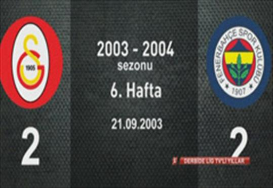 Galatasaray-Fenerbahçe: 2-2