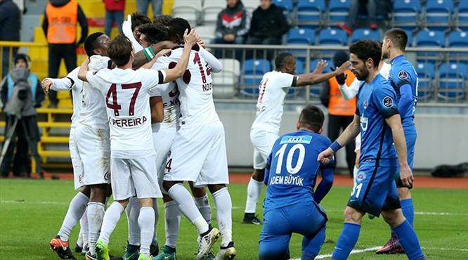 Kasımpaşa - Trabzonspor: 0-1 (ÖZET)
