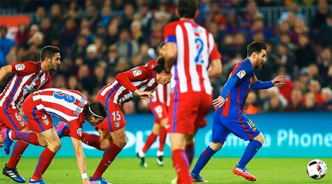 Messi yine sihir yaptı