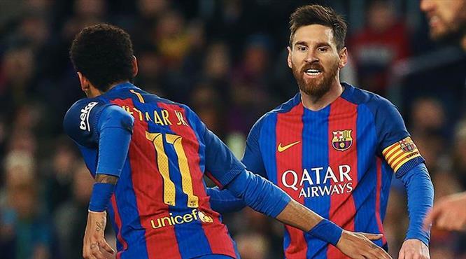 Messi yine şov yaptı (ÖZET)