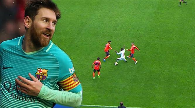 Traore'nin içine Messi kaçtı!