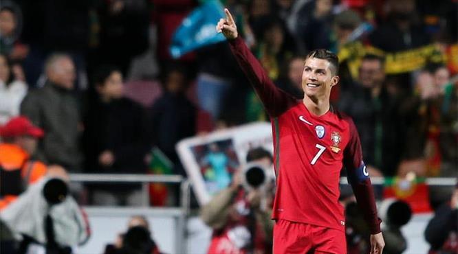 Ronaldo şov yaptı (ÖZET)