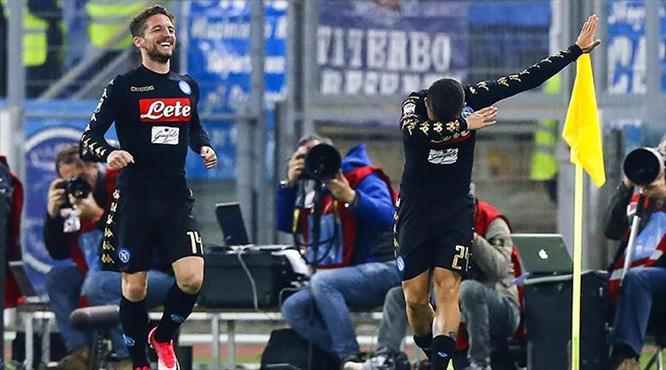 Napoli yerini sağlama aldı!