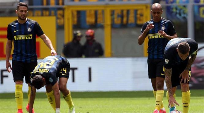 Inter ayağa kalkamıyor! (ÖZET)