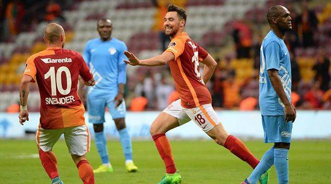 Galatasaray-Osmanlıspor: 2-0