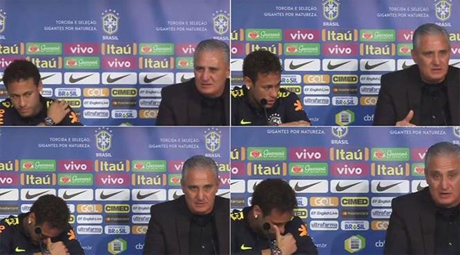 Neymar gözyaşlarına boğuldu