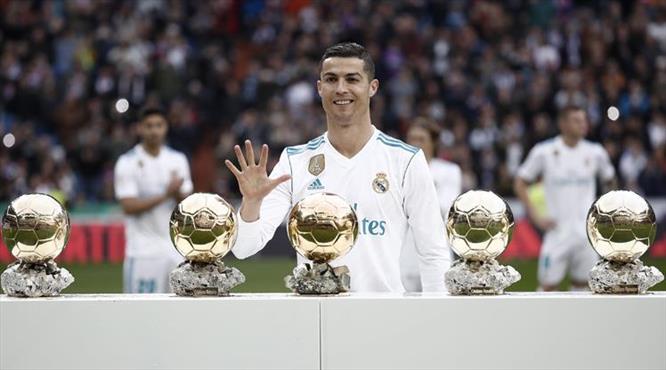 Ronaldo'nun şov gecesi