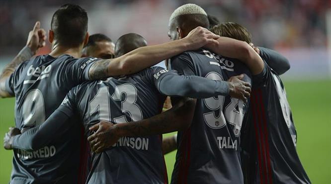 Antalya-Beşiktaş:1-2 (ÖZET)